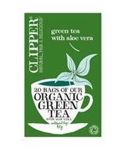 Clipper grönt te med aloe vera ekologiskt