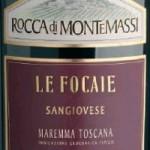 Grillat och vin Rocca di Montemassi Sangiovese
