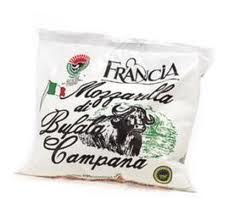 God mozzarella Francia Mozzarella di Bufala Campana