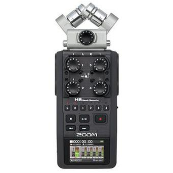 Zoom H6 Handy Recorder, fri frakt!