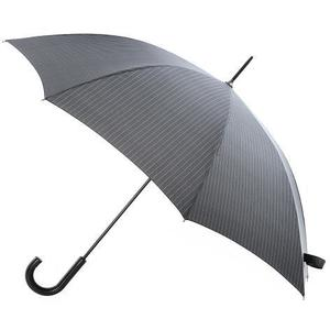 Totes Manual Plastic Walker Umbrella Pinstripe (8999PRT)