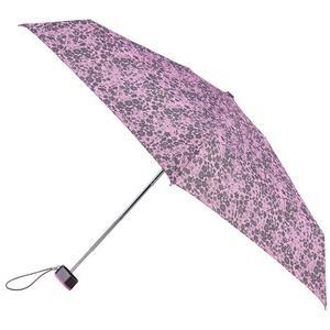 Totes Miniflat 5-Section Lilac Ditsy (8072NLS)
