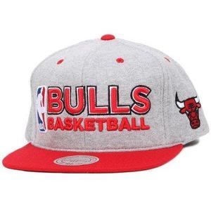 Mitchell & Ness Chicago Bulls Heather Jersey Snapback
