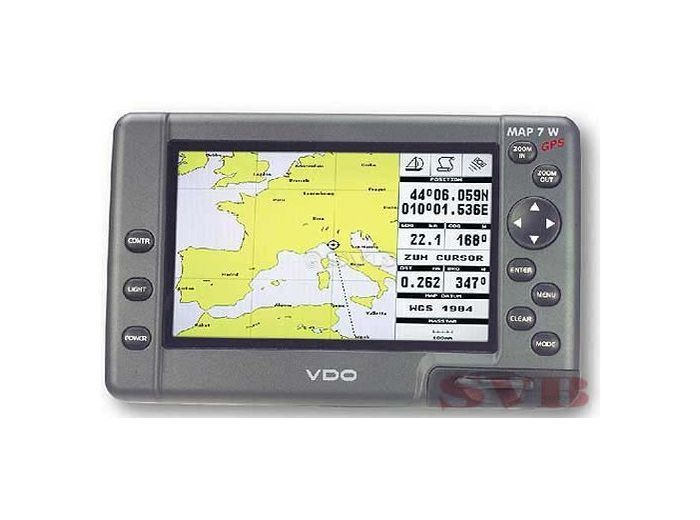 VDO - Chart Plotter MAP 7W / 7WI Plus VDO - Chart plotter MAP 7W Plus / external GPS antenna