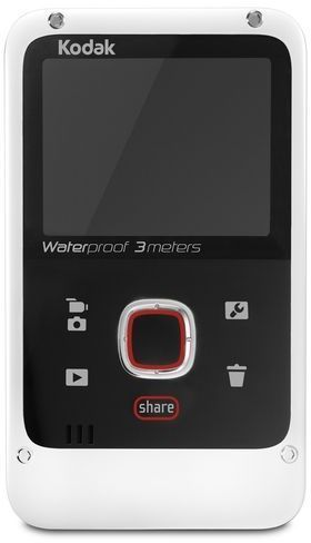 Kodak Playfull Waterproof Video Camera Ze2