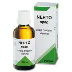NERTO spag droppar - 100 ml