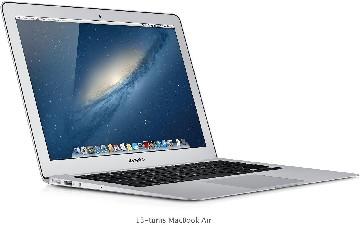 Apple Macbook Air 1.3GHz 4GB 128GB SSD 13''